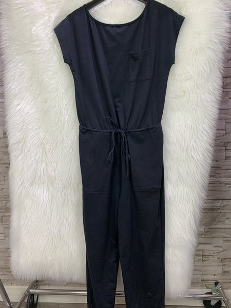 Black Jumpsuit with drawstring