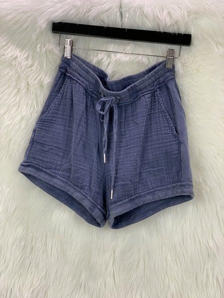 Washed Blue Shorts