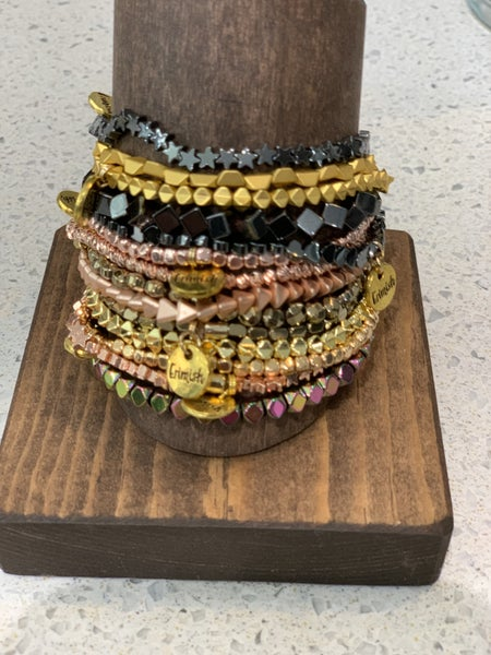 Erimish Stack MIni Mixed Metals (5 bracelets)