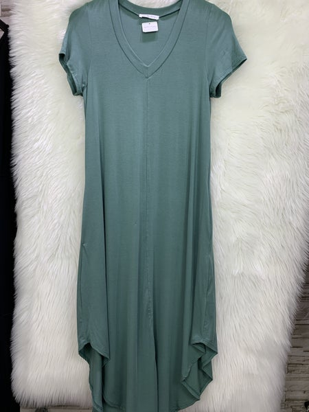 Pine Midi Tee Dress