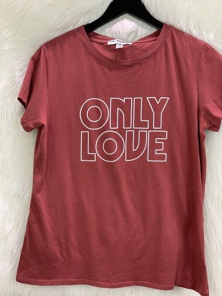 """""""Only Love"""" Cedar Tee"""