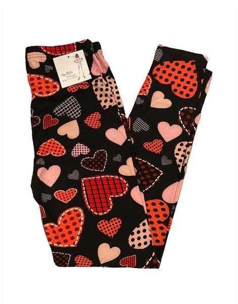 Pattern Heart Leggings