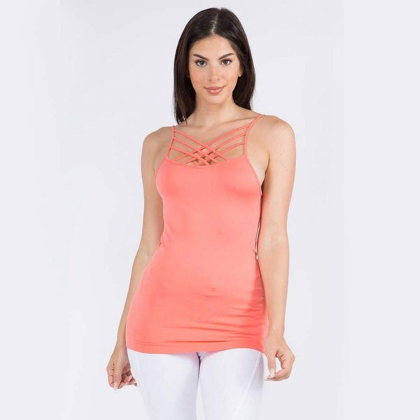 Spring Criss Cross Camis