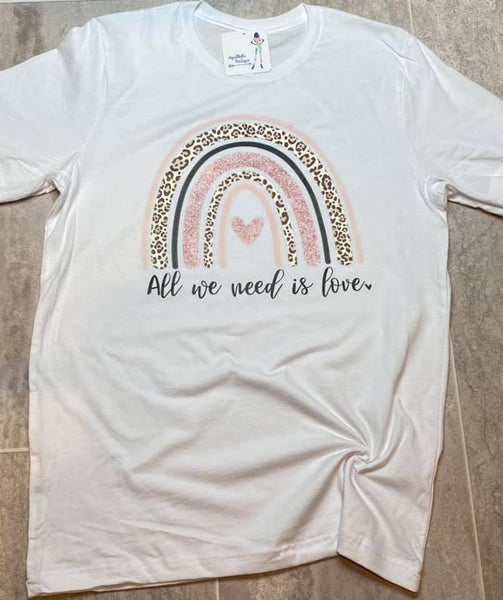 All We Need is Love Graphic T
