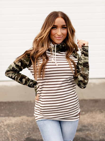 Ampersand Avenue - Crazy About Camo Doublehood - PREORDER