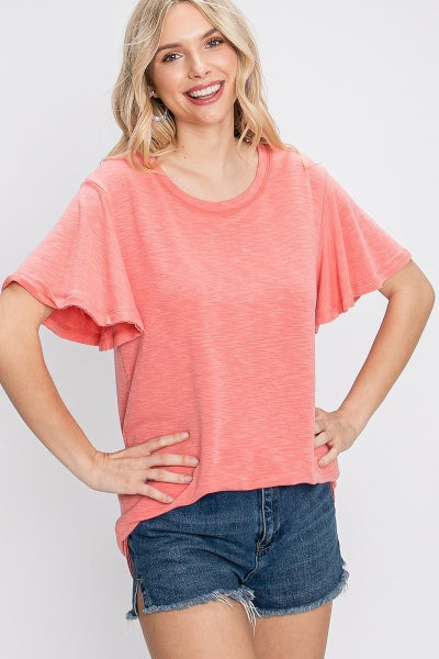 Be Coral Top