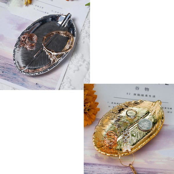 Leaf Jewelry Tray Dish