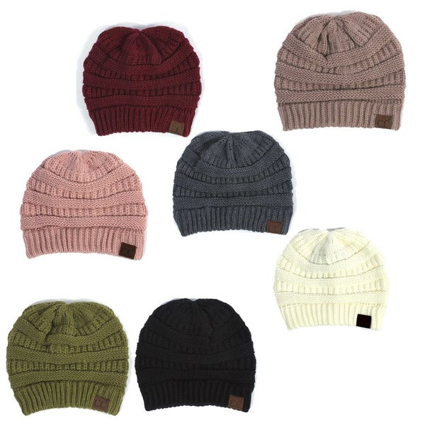 Skully Cable Knit Beanie