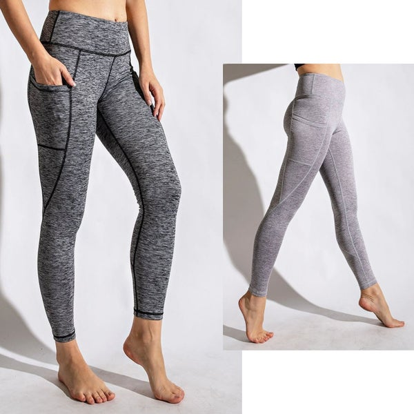 Heathered Yoga Leggings