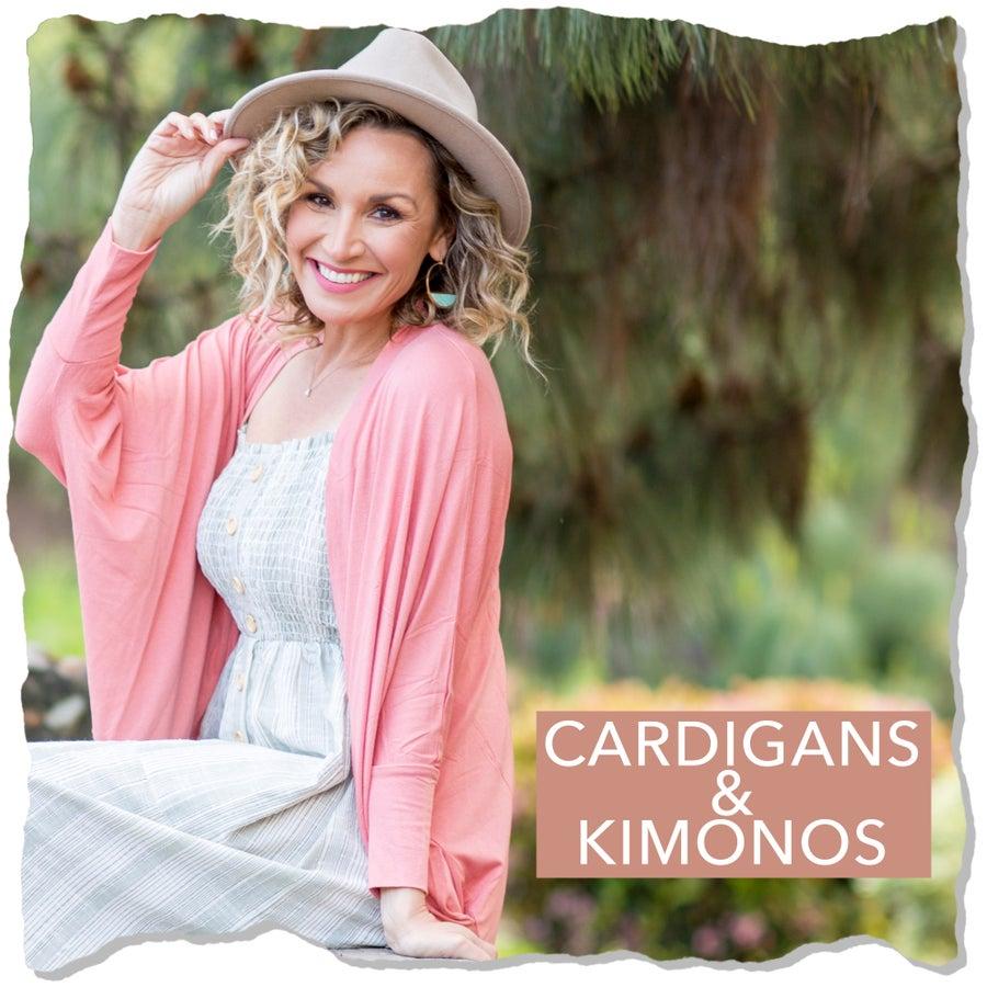 CARDIGAN & KIMONO'S