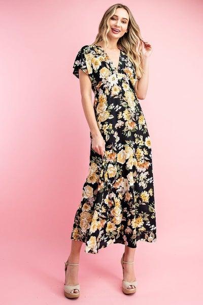 Floral Elegance Dress