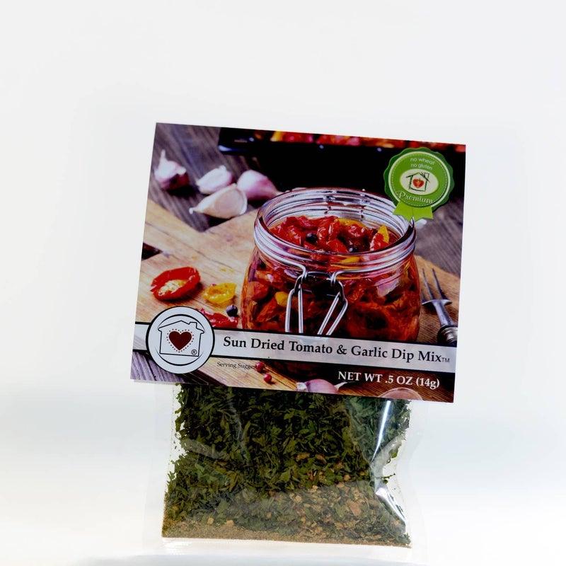 SunDried Tomato & Garlic Dip Mix