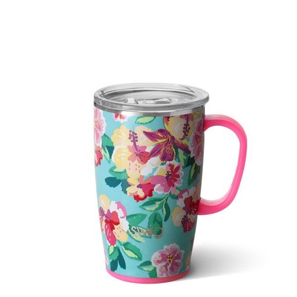 Island Bloom Swig 18oz Mug