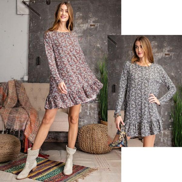Femme & Flowy Ruffle Dress / Top