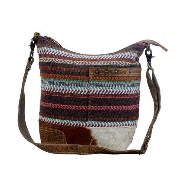 LAYERED SHOULDER BAG