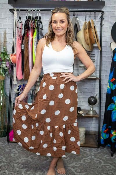 Chocolate Indulgence Skirt