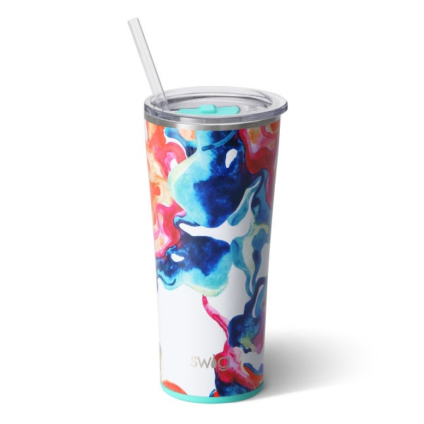 22oz Color Swirl Tumbler