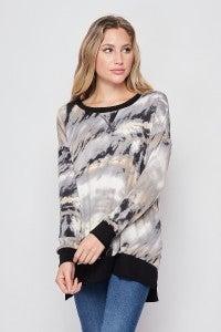 Smokey Skies Sweater