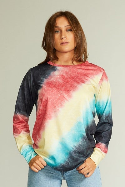 Tie Dye To The Moon Top