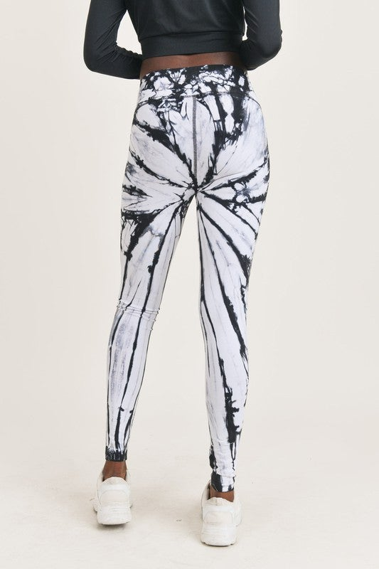 Vortex Tie-Dye Leggings
