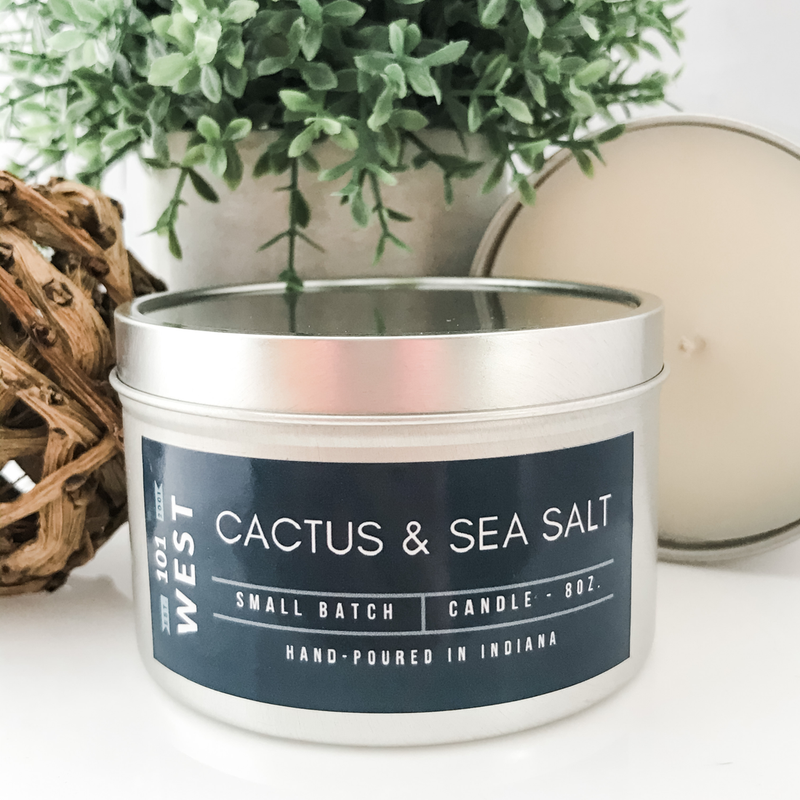 Hand Crafted Scented Tin Candles