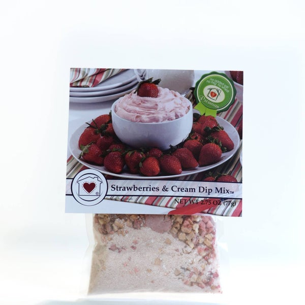 Strawberries & Cream Dip Mix