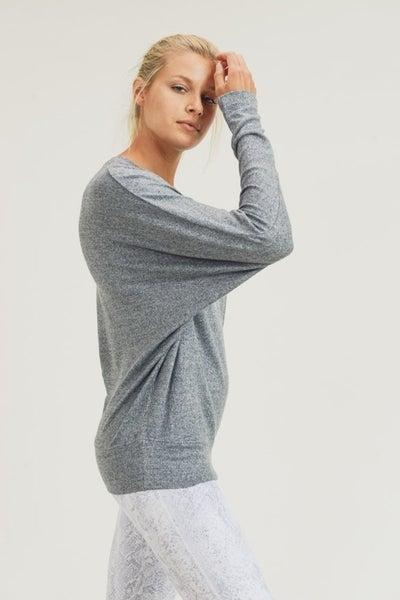 Dolman-Sleeved Top