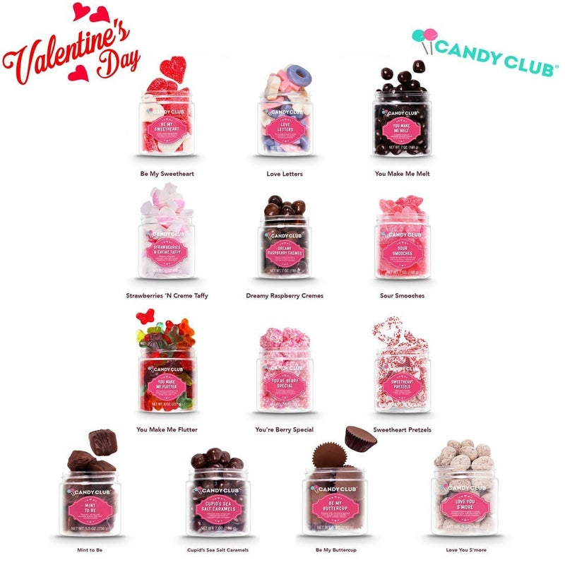 2021 Valentines Candy Club