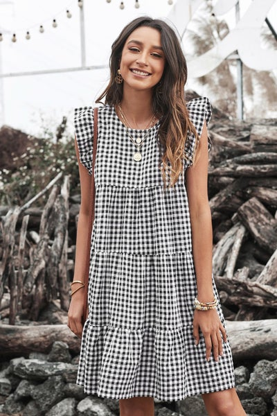 Gingham Grace Dress