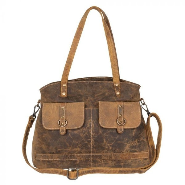 MYRA LADY'S FIRST LOVE LEATHER BAG