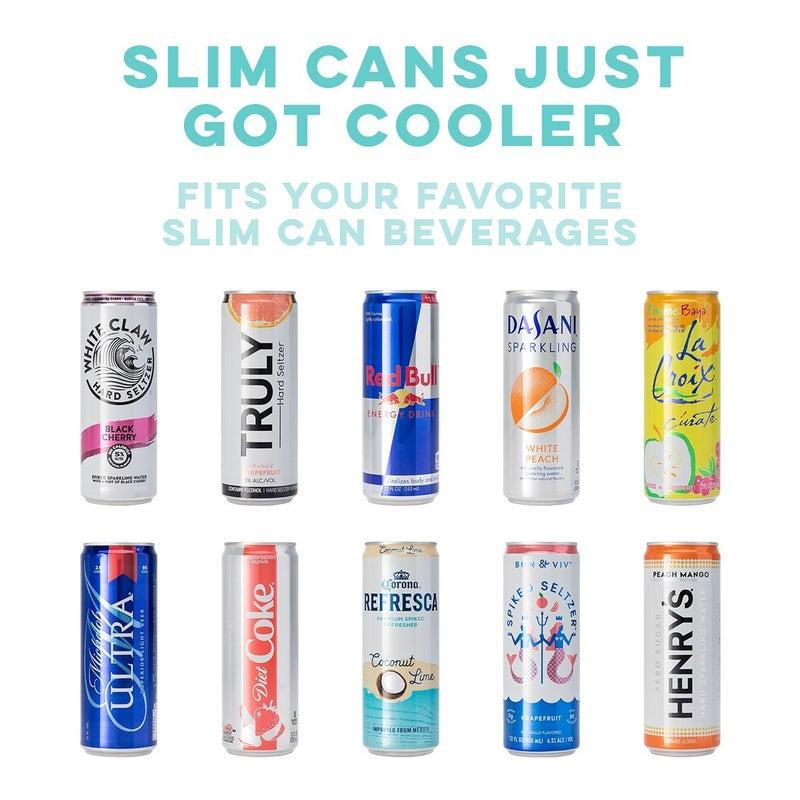 Matte Blush Skinny Can Cooler (12oz)