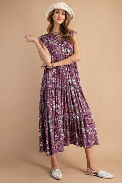 Plum Perfect Dress