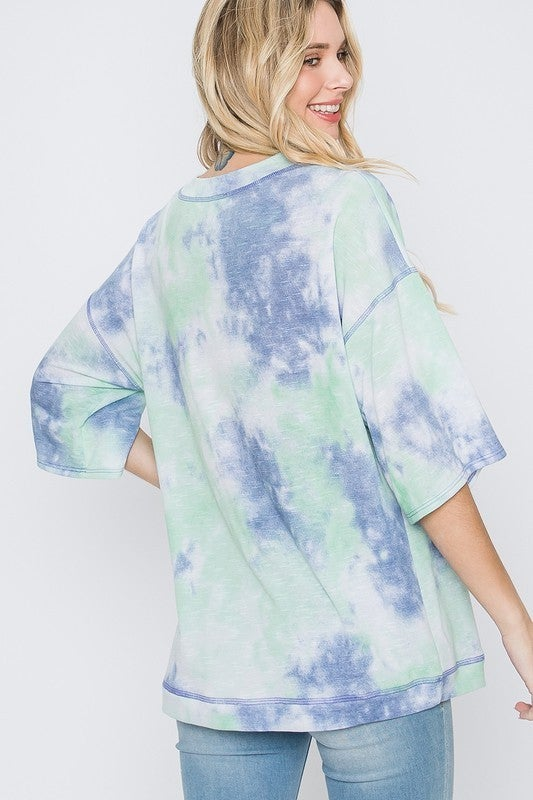 Mint Waves Top