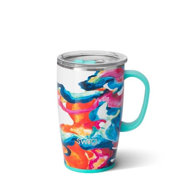 Color Swirl Travel Mug (18oz)