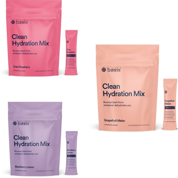 Clean Hydration Mix Packets