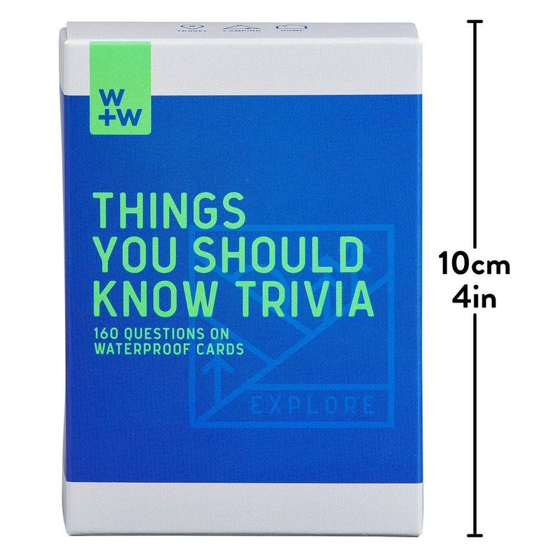 Trivia Card Games