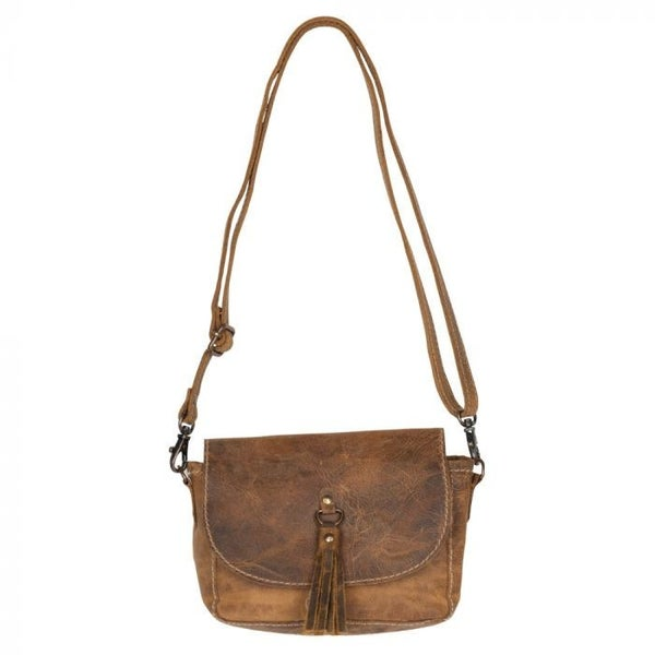 WHISPERING WOODS LEATHER MYRA BAG
