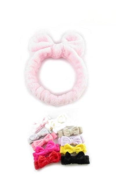 Fleece makeup headband