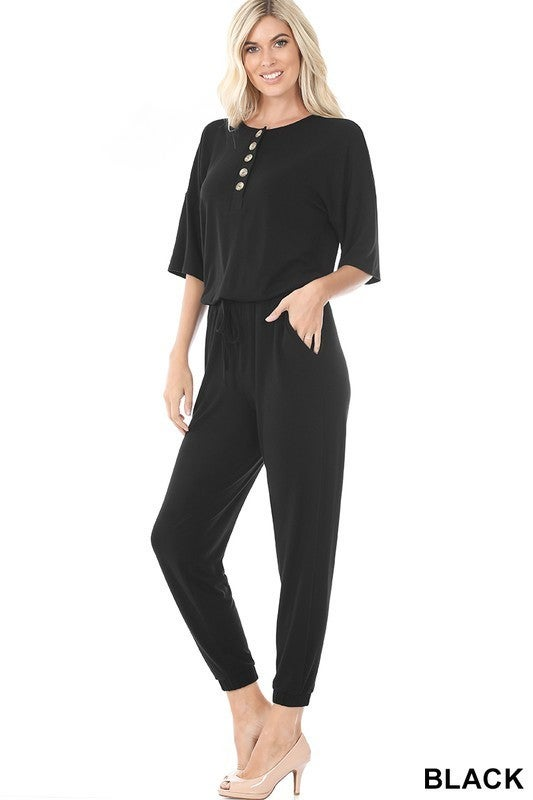Casually Cozy Jumpsuit