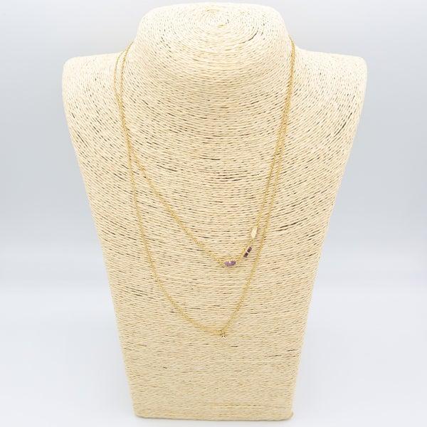 Semi Precious Gem Necklace