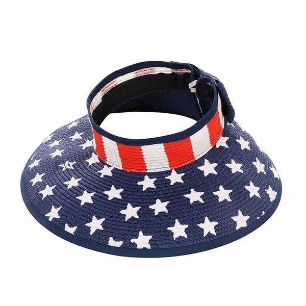 AMERICAN FLAG VISOR