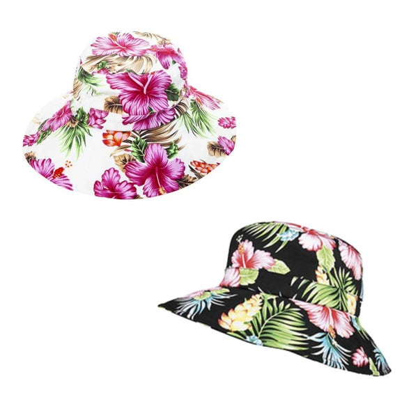 SMOOTH FLORAL SUN HAT