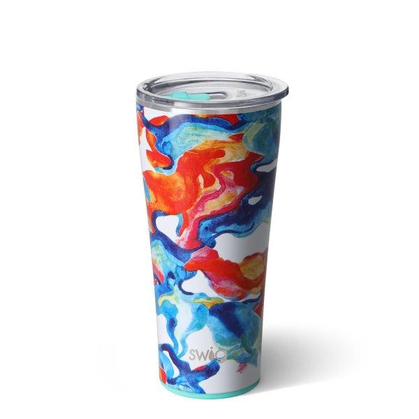 Color Swirl Tumbler (32oz)