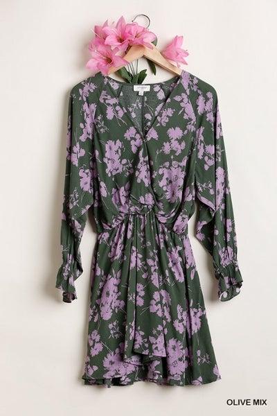 Matcha Taro Dress