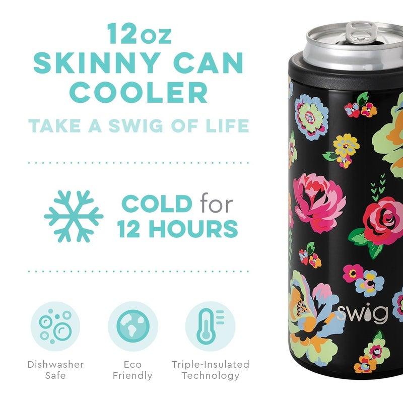 Fleur Noir Skinny Can Cooler (12oz)