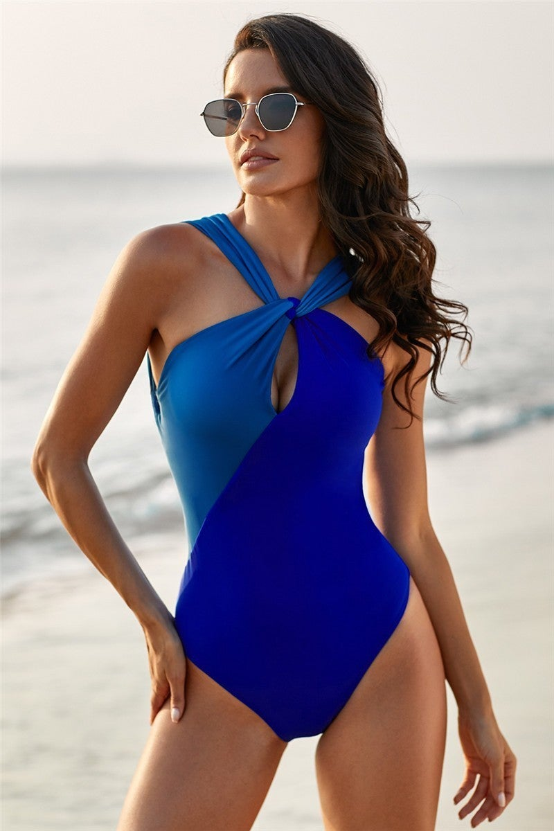Clear Water Halter Swimsuit