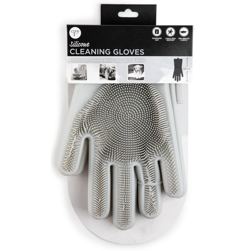 Pair of Silicone Cleaning Gloves