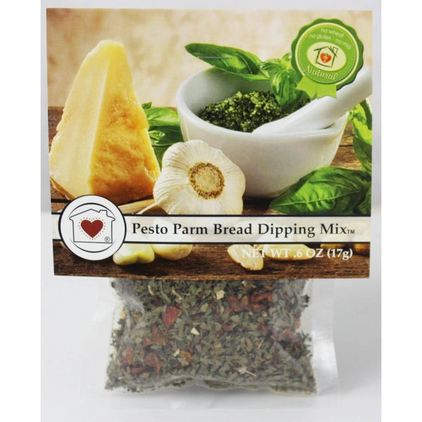 Pesto Parmesan Bread Dipping Mix