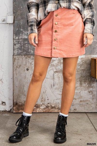Corduroy Cutie Skirt
