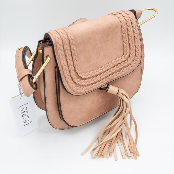 Cross Body Tassel Bag (2 Colors)